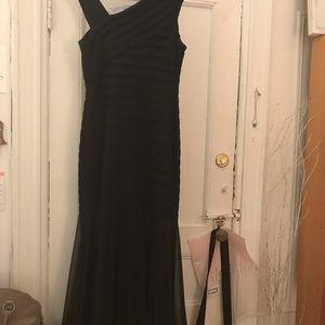Xscape Dresses - XSCAPE black gown